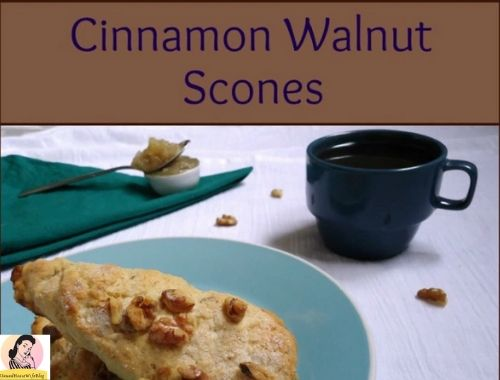 Cinnamon Walnut Scones recipe