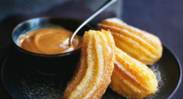 A Perfect Churros Recipe: Churros With Coconut Sauce