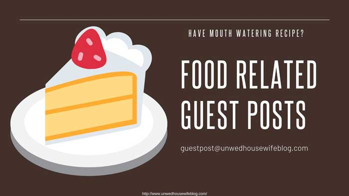 food guest posts write for us
