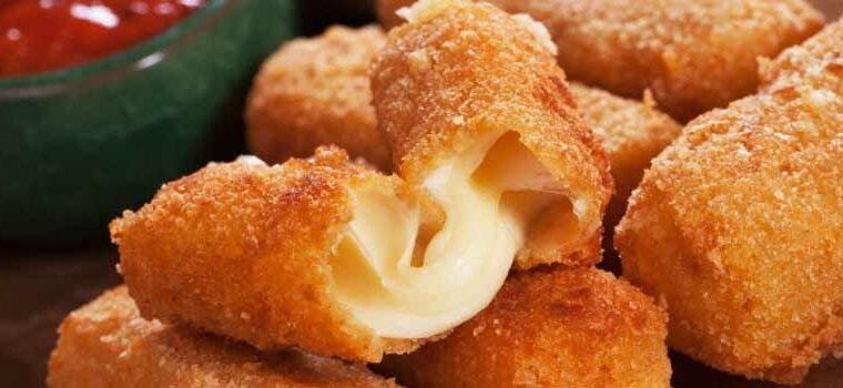 Easy Mini Mozzarella Cheese Sticks Recipe